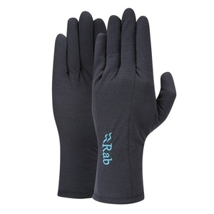 Rękawice Rab Merino+ 160 Glove Women's ebony, Rab