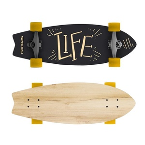 Longboard Spokey LIFE 67,5 x 25,5 cm ABEC7, Spokey