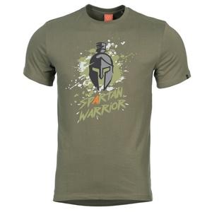 Męskie koszulka PENTAGON® Spartan Warrior zielony, Pentagon