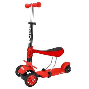 Rowerek trójkołowy Spokey TRIPLA czerwona, Spokey