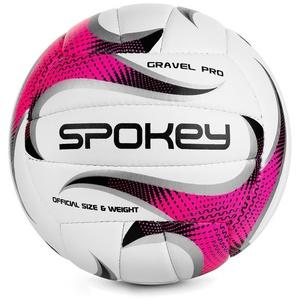 Do siatkówki piłka Spokey GRAVEL PRO różowy rozmiar. 5
