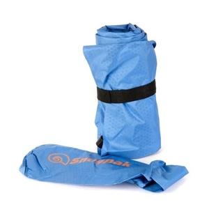Nadmuchiwana karimata z zabudowaną pompką Snugpak Air Mat niebieska, Snugpak