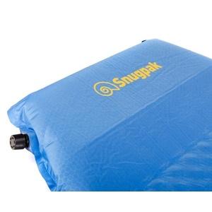 Samodmuchający karimata Snugpak XL z wbudowany poduszką niebieska, Snugpak