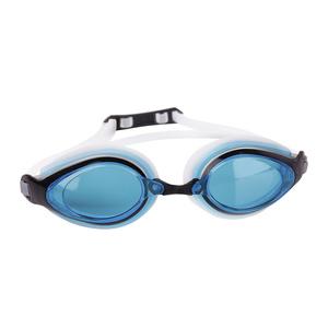 na basen okulary Spokey KOBRA białe, niebieskie szkła, Spokey