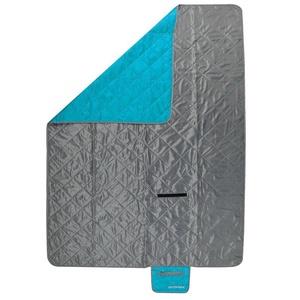 kempingowa koc Spokey CANYON 200x140cm szary / niebieski