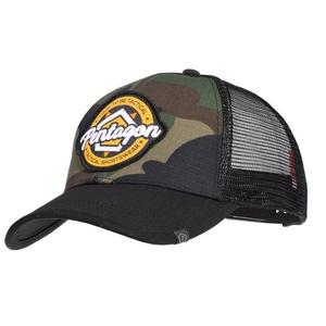 Czapka z daszkiem PENTAGON® Era Trucker Tactical Odzież sportowa USA woodland, Pentagon