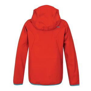 Dziecięca softshellowa kurtka Husky Zally Kids czerwona, Husky
