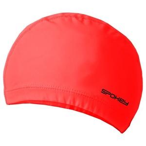Dwuwarstwowa pływacka czapka Spokey TORPEDO czerwona, Spokey