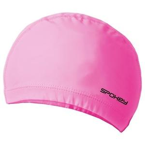 Dwuwarstwowa pływacka czapka Spokey TORPEDO różowa, Spokey