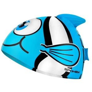 Dziecięca pływacka czapka Spokey RYBKA turkusowa, Spokey