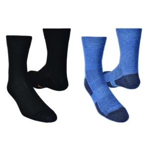 Skarpety LIGHTTREK CMX 2pack 28327-83 czarny + niebieski, Vavrys