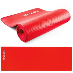 Podkładka do ćwiczenia Spokey SOFTMAT czerwona 1,5 cm, Spokey