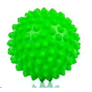 Rehabilitacyjny masażujący piłka Spokey TONI 90 mm, zielony, Spokey