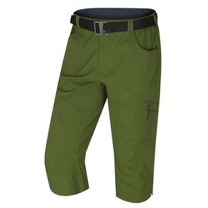 Męskie 3/4 spodnie Kler M ciemno. zielony, Husky
