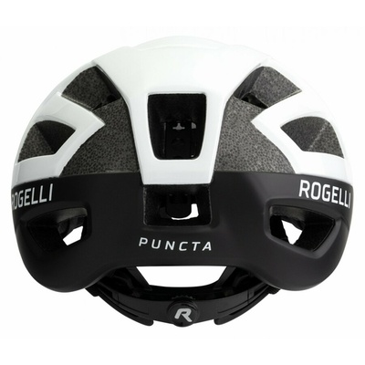 Kask Rogelli PUNKTA, czarny i biały ROG351055, Rogelli