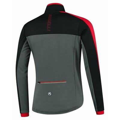 Męska kurtka zimowa Rogelli Freeze szaro-czarno-czerwony ROG351022, Rogelli