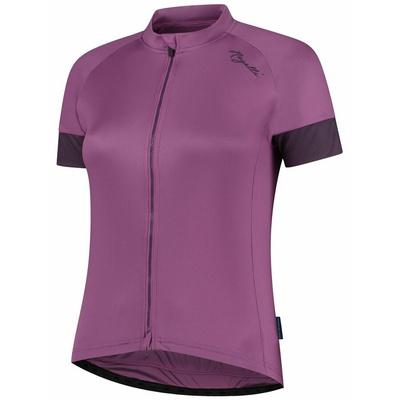 Damski rowerowy bluza Rogelli MODESTA z krótkim rękawem, fioletowy 010.119, Rogelli