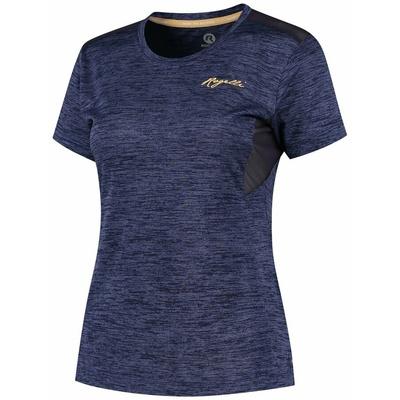 Damskie funkcjonalne koszulka Rogelli INDIGO z krótkim rękawem, fioletowy 840.268