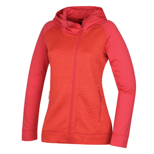 Damska bluza Atonia L delikatnie czerwona, Husky