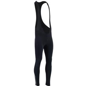 Męskie zimowy rowerowe spodnie Silvini Maletto Pad MP1734 black