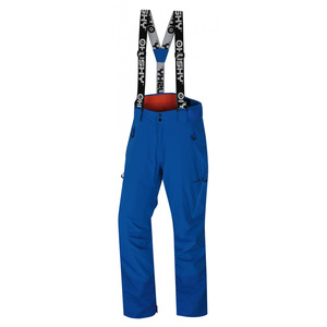 Męskie narciarskie spodnie Husky Mitaly M niebieska, Husky
