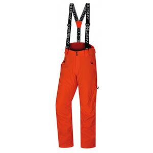 Męskie narciarskie spodnie Husky Mitaly M neon pomarańczowy, Husky