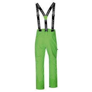 Męskie narciarskie spodnie Husky Mitaly M neon zielony, Husky
