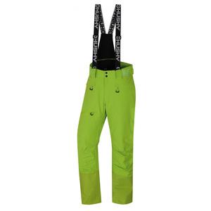 Męskie narciarskie spodnie Husky Gilep M zielony, Husky
