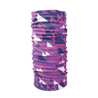 wielofunkcyjne szalik Husky Printemp pink trójkąt, Husky