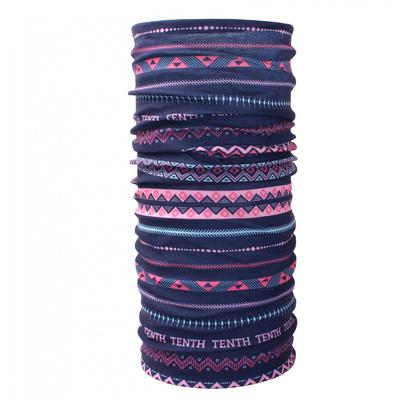 wielofunkcyjne szalik Husky Printemp pink trójkąt stripes, Husky