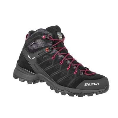 Damskie buty Salewa WS ALP MATE MID WP black out / virtual pink