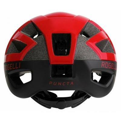 Kask Rogelli PUNKTA, czarno-czerwony ROG351057, Rogelli