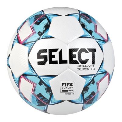 Futbolowa piłka Select FB Brillant Super TB biało niebieska, Select