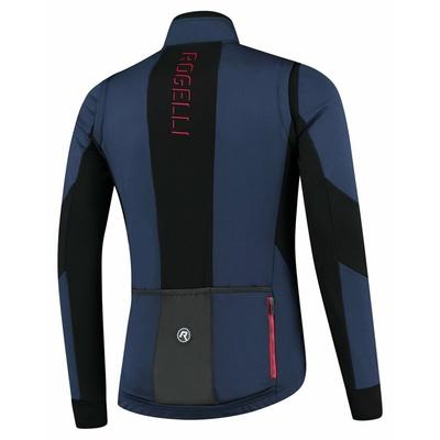 Męska kurtka rowerowa softshell Rogelli Brave niebiesko-czarno-czerwony ROG351025, Rogelli