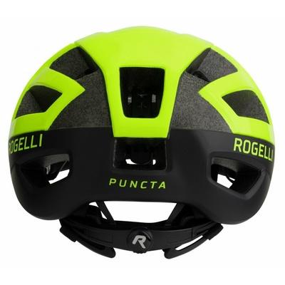 Kask Rogelli PUNKTA, czarny-odblaskowy żółty ROG351056, Rogelli
