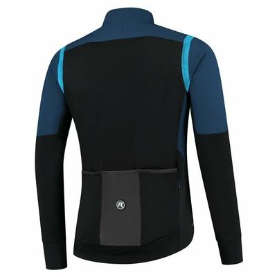 Męska ultralekka kurtka rowerowa Rogelli Nieskończona bez izolacji niebiesko-czarny ROG351049, Rogelli