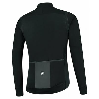 Męska ultralekka kurtka rowerowa Rogelli Nieskończona bez izolacji czarny ROG351047, Rogelli
