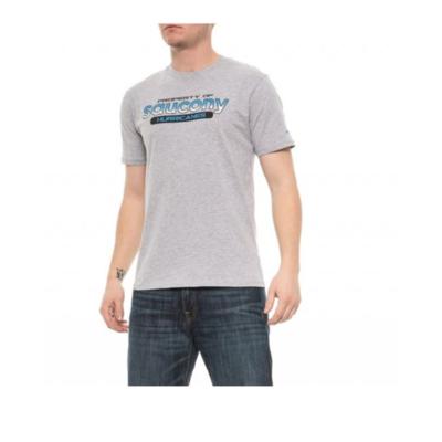 Koszulka męska Saucony Koszulka męska Ra Graphic / Heather Grey, Saucony