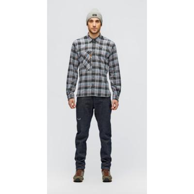 Spodnie męskie Salewa Pez AlpejskiWełna niebieski jeans 28116-8600, Salewa