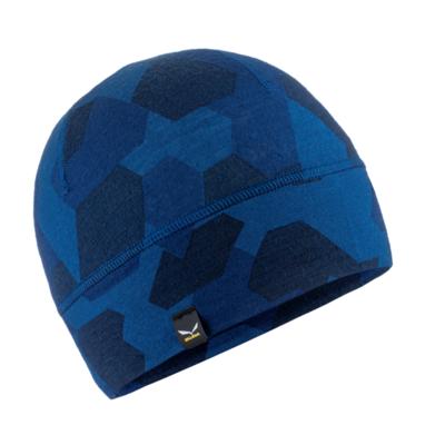 Czapka zimowa Salewa Kryształowa czapka navy kamau 28169-3938, Salewa