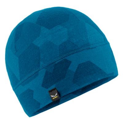 Czapka zimowa Salewa Kryształowa czapka cloisonne kamuflaż 28169-8669, Salewa
