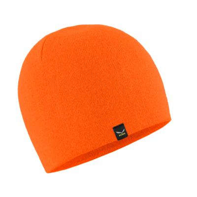 Czapka zimowa Salewa Czapka narciarska Sella fluo pomarańczowy 28171-4570, Salewa