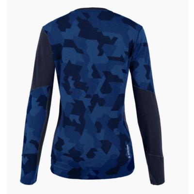 Damskie termo koszulka Salewa Cristallo Ciepły Merino granatowa marynarka 28206-3960, Salewa