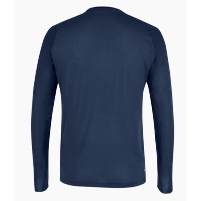 Męskie termo koszulka Salewa Seceda Dry long sleeve tee granatowa marynarka 28243-3960, Salewa
