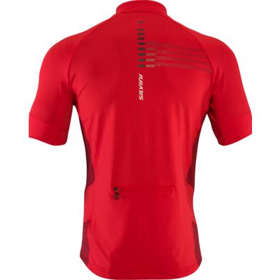 Męska koszulka rowerowa Silvini Krzyż MD1204 czerwony, Silvini
