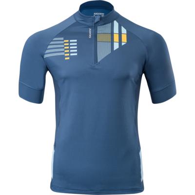 Męska koszulka rowerowa Silvini Krzyż MD1204 navy, Silvini