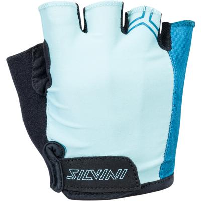 Rękawiczki damskie Silvini Enna WA1445 turkusowy, Silvini