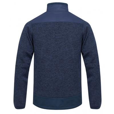 Męski rozpinany sweter z polaru Husky Alan M ciemnoniebieski / ciemny. niebieski, Husky