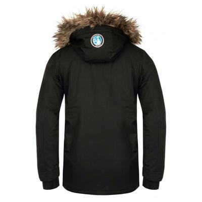 Męska zima kurtka Kilpi ALFA-M czarny, Kilpi