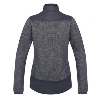 Damski sweter z polaru zapinany na zamek Husky Alan L ciemnoszary, Husky